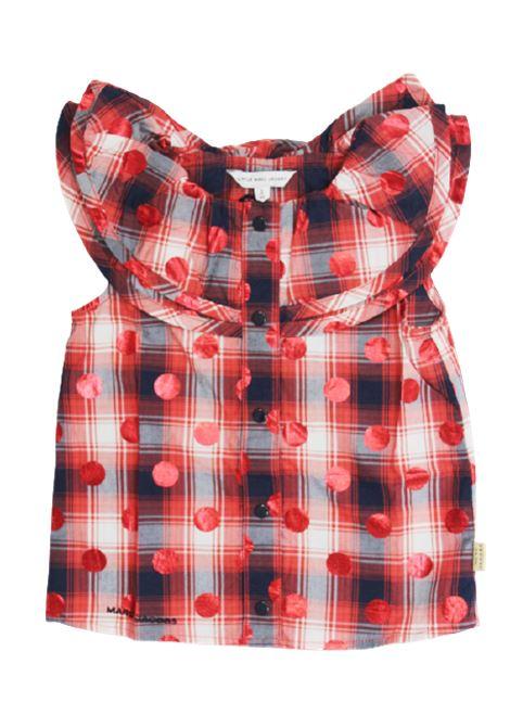 LITTLE MARC JACOBS | shirt | W12478ROSSO BLU