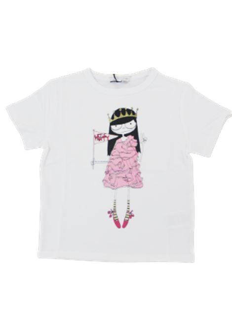 LITTLE MARC JACOBS   T-shirt   W15484BIANCO