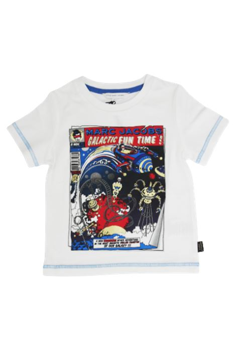 LITTLE MARC JACOBS | T-shirt | W25416/10BBIANCO