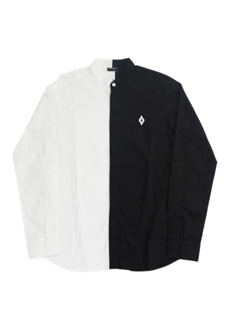 MARCELO BURLON | shirt | BMB2090BIANCO NERO