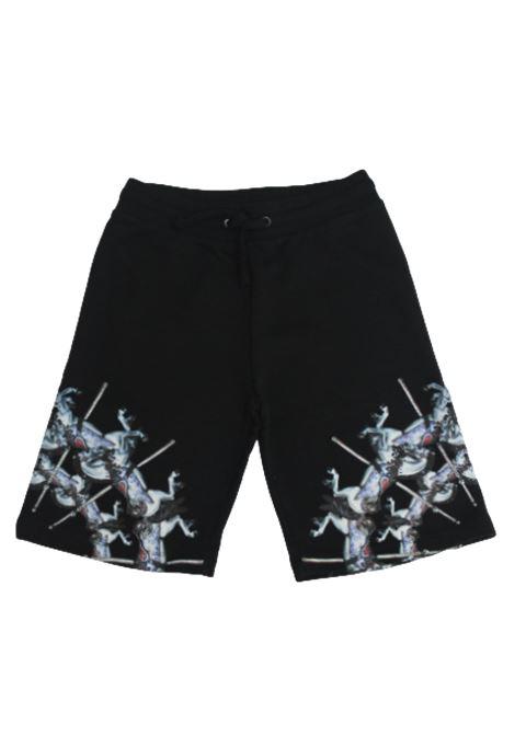 MARCELO BURLON | Bermuda pants  | BMB3207NERO