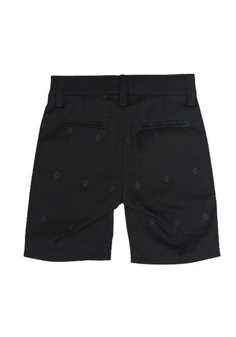 MARCELO BURLON | Bermuda pants  | BMB3290NERO