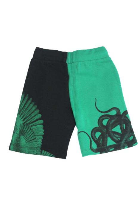 MARCELO BURLON | Bermuda pants  | MAR07VERDE NERO