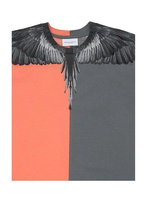 MARCELO BURLON | T-shirt | MB11110010ARANCIO GRIGIO