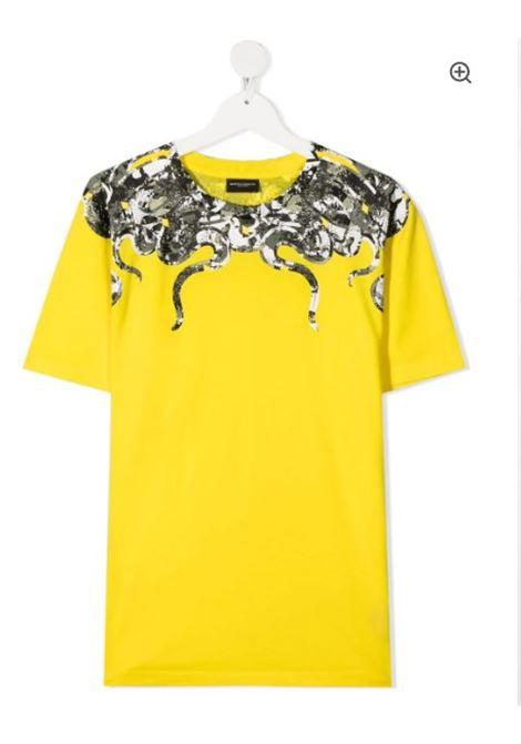 MARCELO BURLON | t-shirt short sleeve | MB11130010GIALLO