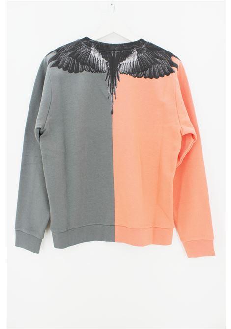 MARCELO BURLON | sweatshirt | MB20080020ARANCIO GRIGIO