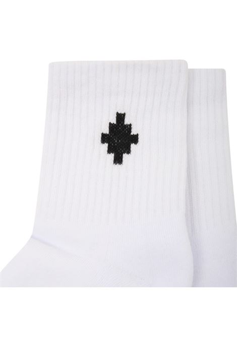 MARCELO BURLON | knee sock | MB60007010BIANCO