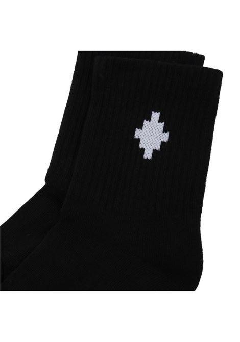 MARCELO BURLON | knee sock | MB60007010NERO