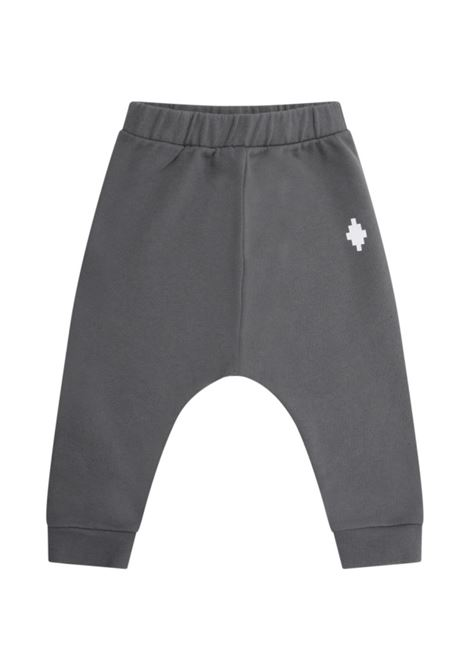 MARCELO BURLON | plushy trousers | MB64080020GRIGIO