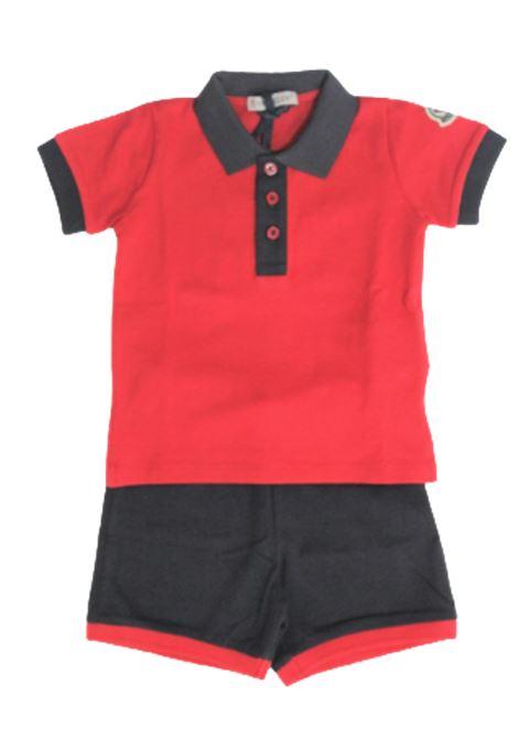 MONCLER | suit | E195188123508496FROSSO BLU