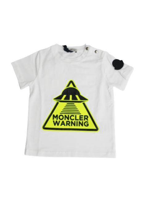 T-shirt Moncler MONCLER | T-shirt | F19518C701208790ABIANCO