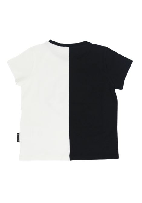T-shirt Moncler MONCLER | T-shirt | F19548C700108790ANERO BIANCO