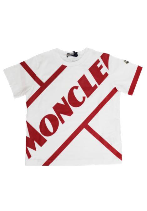 T-shirt Moncler MONCLER | T-shirt | F19548C7012083907BIANCO