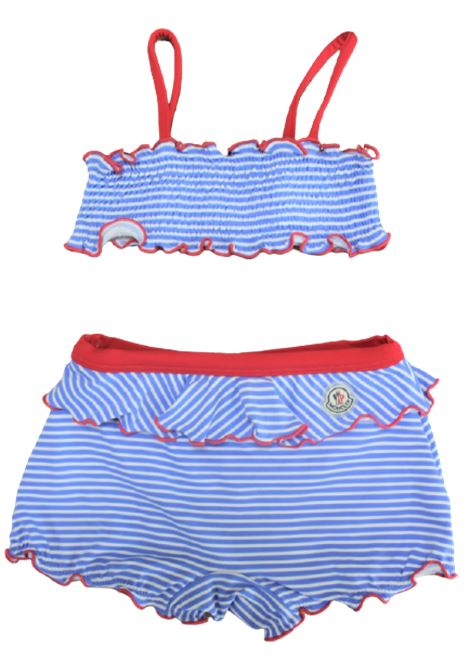 MONCLER | swimsuit | MON135RIGA AZZURRO BIANCO