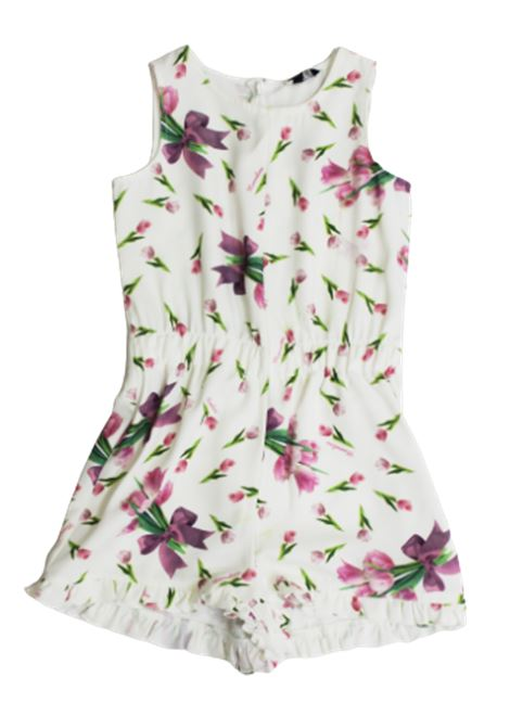 MONNALISA | Dress | 115201BIANCO FANTASIA