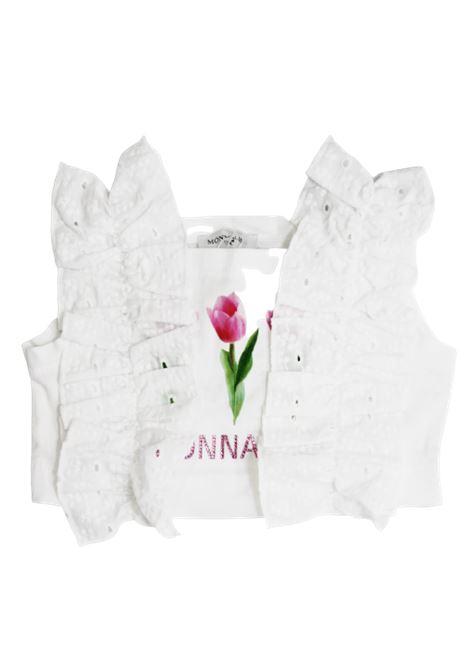 MONNALISA | shirt | 115615SNBIANCO