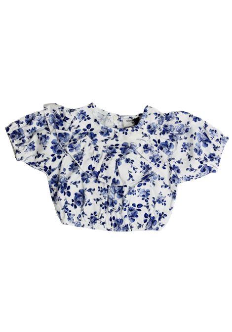 MONNALISA | shirt | 315301BIANCO FANTASIA