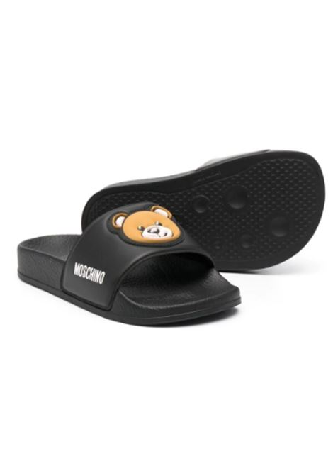 MOSCHINO | slipper | 67529NERA