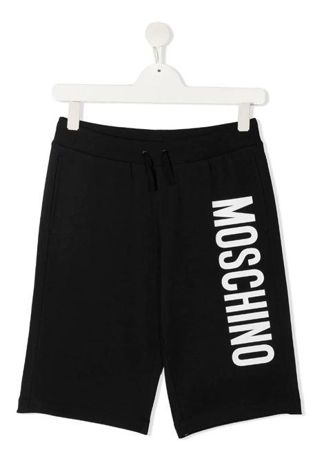 MOSCHINO | Bermuda pants  | HMQ007NERO