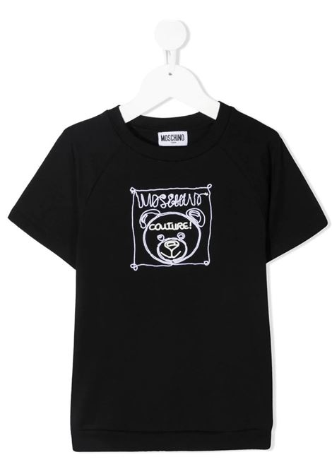 T-shirt Moschino MOSCHINO   T-shirt m/m   HUM030NERO