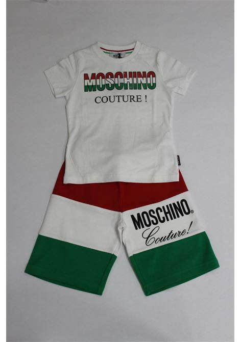 MOSCHINO | suit | HUP02VBIANCO ROSSO