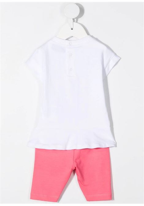 MOSCHINO | suit | MDG009BIANCO FUXIA
