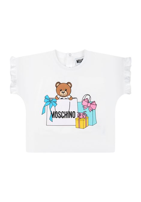 MOSCHINO | suit | MDG00ABIANCO ROSA