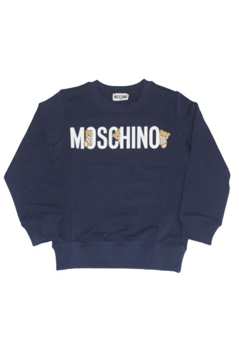Felpa Moschino MOSCHINO | Felpa | MOS140BLU