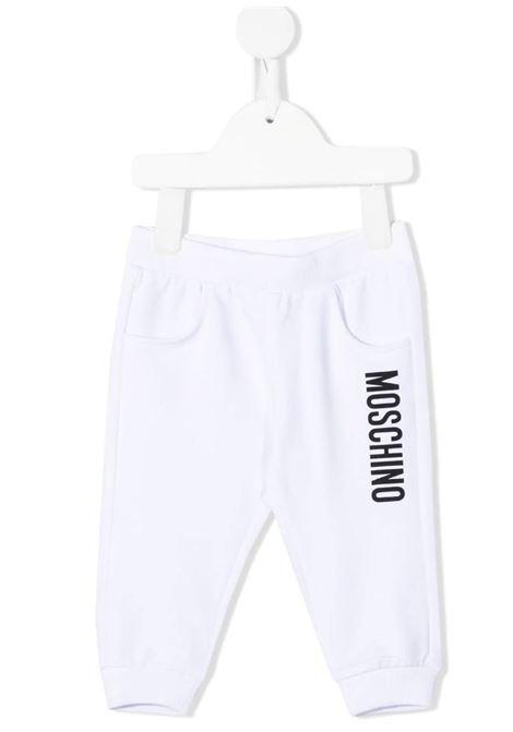 Pantalone felpa Moschino MOSCHINO   Pantalone   MRP023BIANCO