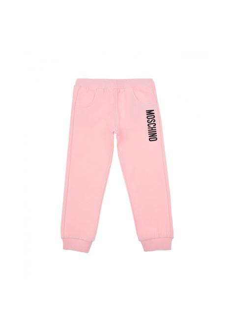 Pantalone felpa Moschino MOSCHINO   Pantalone   MRP023ROSA