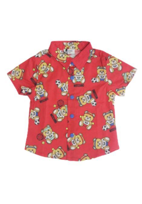 Camicia Moschino MOSCHINO | Camicia | MUC017ROSSO FANTASIA