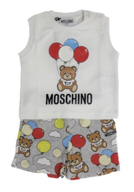 Completo Moschino MOSCHINO | Completo | MUG001BIANCO GRIGIO