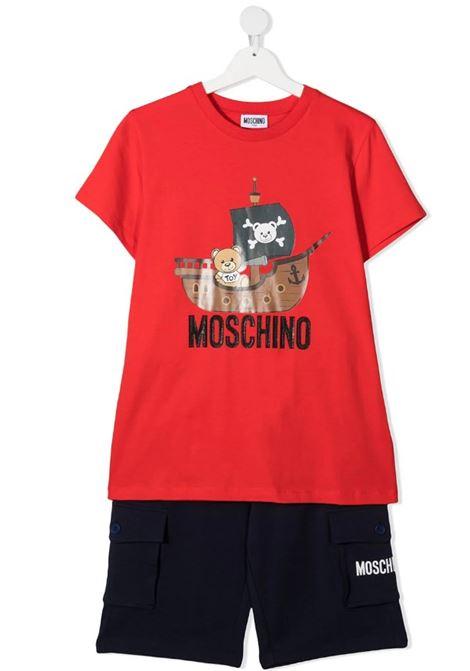 Completo Moschino MOSCHINO   Completo   MUG009ROSSO BLU