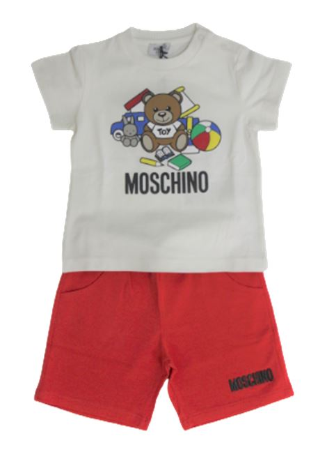 MOSCHINO | suit | MUK022BIANCO ROSSO