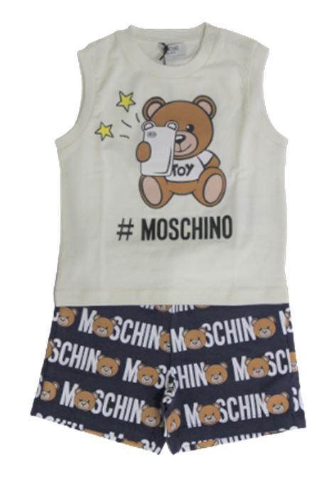 Completo Moschino MOSCHINO | Completo | MUK023BIANCO BLU