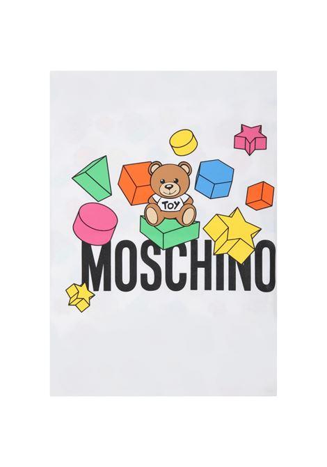 MOSCHINO | blanket | MUX03KBIANCA