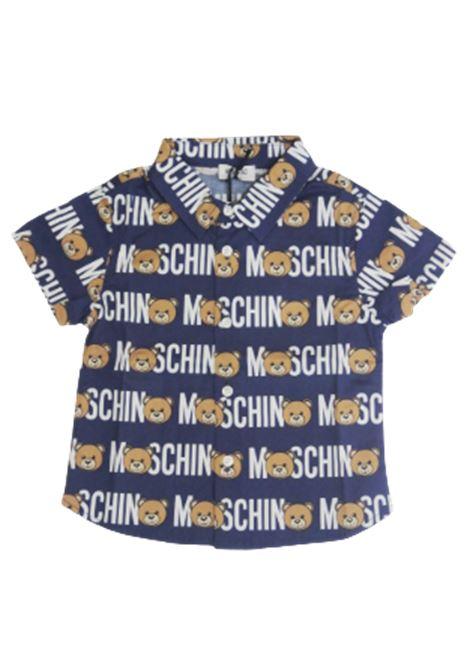 Camicia Moschino MOSCHINO | Camicia | MWC018BLU FANTASIA