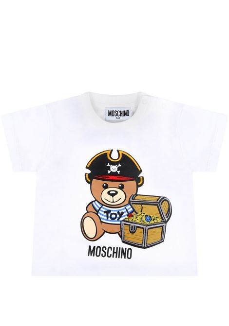 T-shirt Moschino MOSCHINO   T-shirt m/m   MWM02ABIANCO