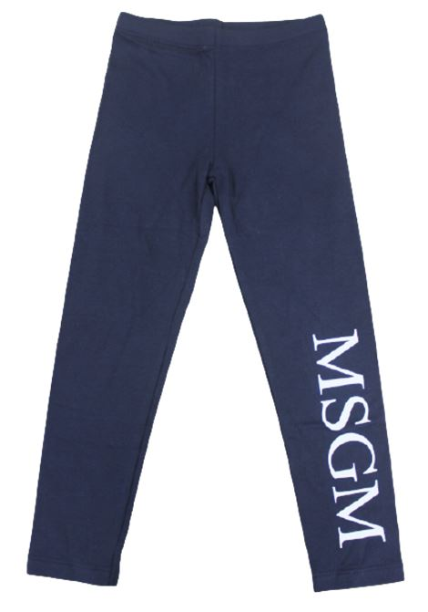 MSGM | leggins | 021168BLU