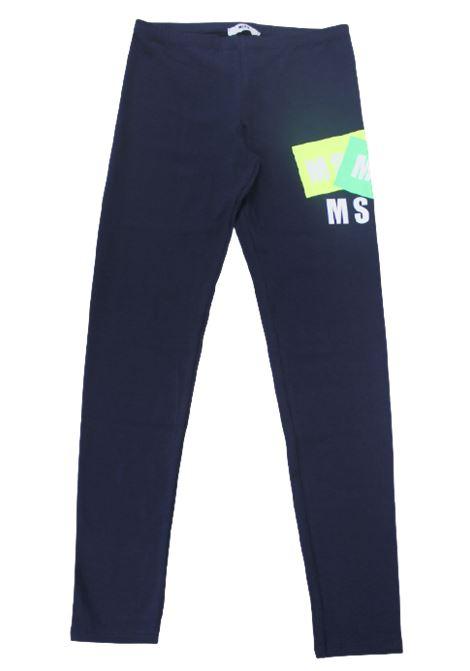 MSGM | leggins | 022078BLU