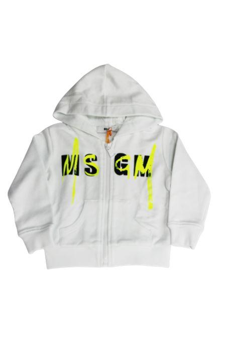 Felpa MSGM MSGM | Felpa | 022080BIANCO