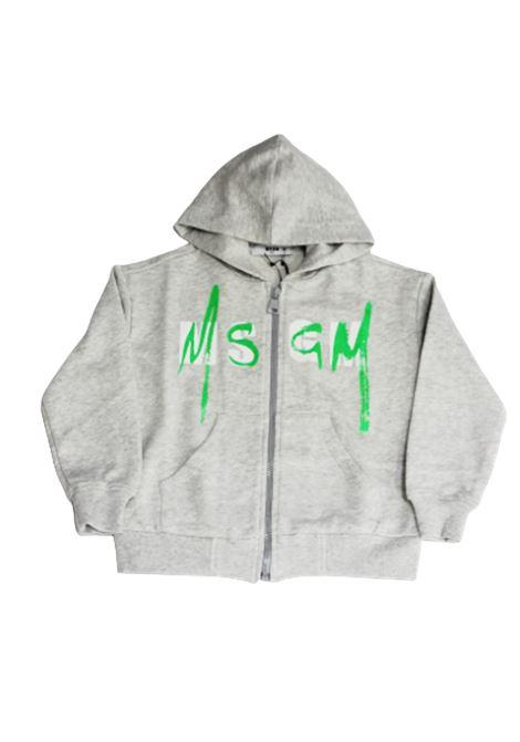 Felpa MSGM MSGM | Felpa | 022080GRIGIO