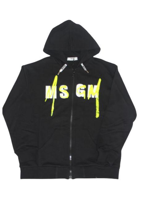 Felpa MSGM MSGM | Felpa | 022080NERO