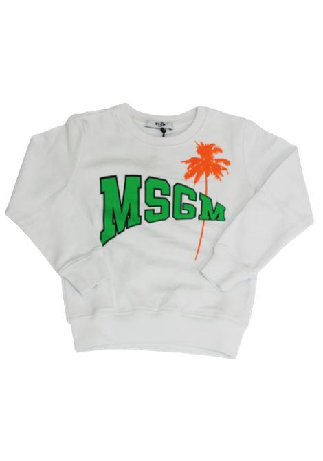 MSGM | sweatshirt | 022090BIANCO