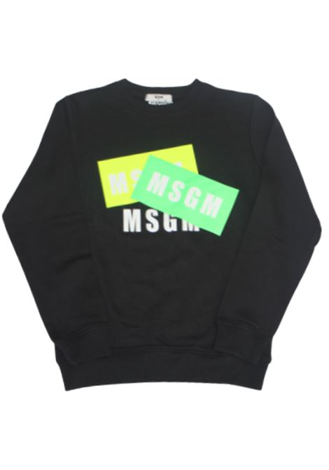 Felpa MSGM MSGM | Felpa | 022093110NERO