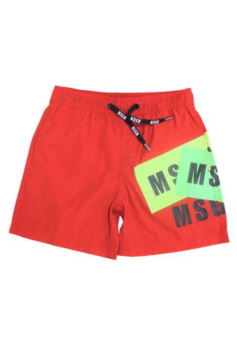 Costume MSGM MSGM | Costume | 022253ROSSO
