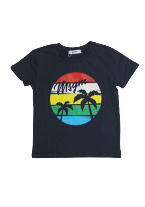 T-shirt MSGM MSGM | T-shirt | 022441BLU