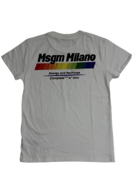 T-shirt MSGM MSGM | T-shirt | 022449BIANCO