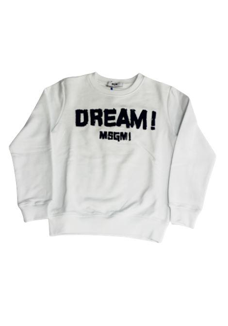 Felpa MSGM MSGM | Felpa | 022603BIANCO
