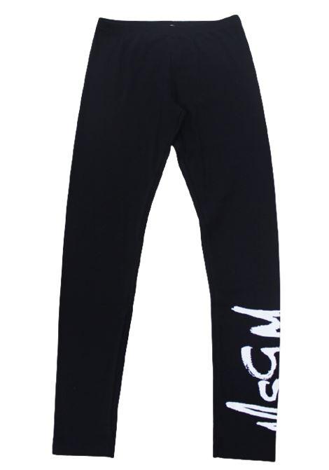 MSGM | leggins | 022682NERO